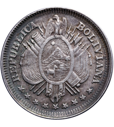 Boliwia 20 Centavos 1893 PTS CB