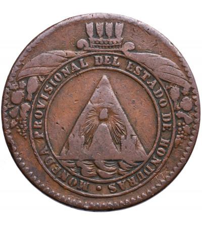 Honduras 2 Pesos 1862 TA