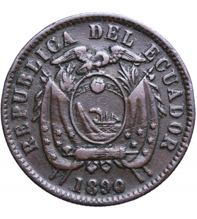 Ekwador 1 Centavo 1890 H