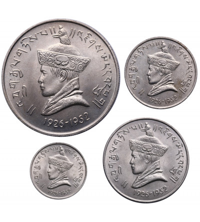 Bhutan 25 i 50 Naya Paisa, 1 i 3 Rupee 1966
