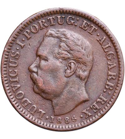 Indie Portugalskie 1/4 Tanga (15 Reis) 1886