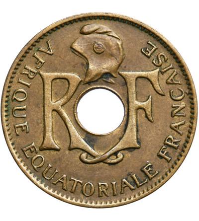 Francuska Afryka Równikowa 10 Centimes 1943