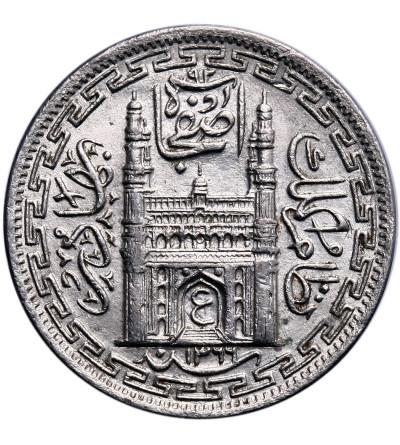Indie - Hyderabad 2 Annas AH 1366 rok 37 / 1946 AD