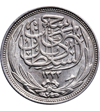 Egipt 2 piastry 1917 H