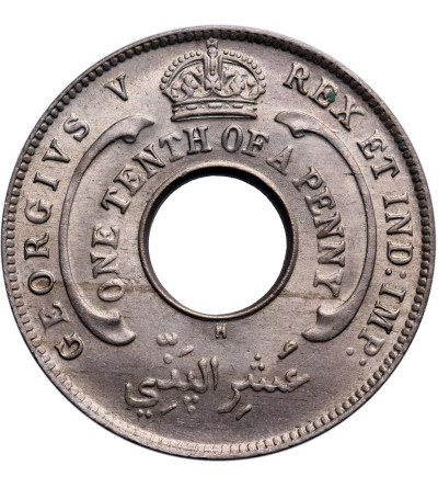 Brytyjska Afryka Zachodnia 1/10 penny 1911 H
