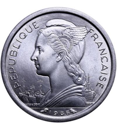 Francuska Somalia 1 frank 1965