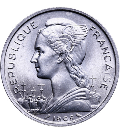 Francuska Somalia 5 franków 1965