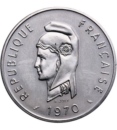 Francuskie Terytorium Afarów i Issów 100 franków 1970 - ESSAI (próba)