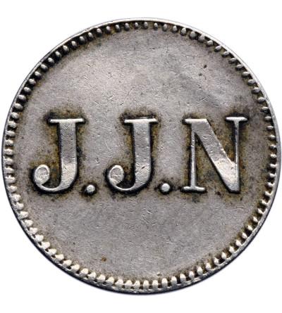 Curacao 1 Stuiver bez daty (ok. 1880),  J.J.N (J.J. Naär)