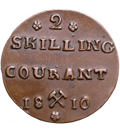 Norway 2 Skilling 1810, Kongsberg