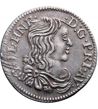 France Orange 5 Sols (1/12 Ecu) 1661