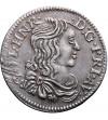 Francja 5 Sols (1/12 Ecu) 1661, Orange (Vaucluse)