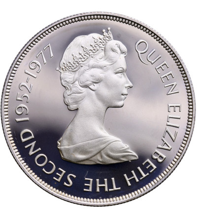 Gibraltar 25 New Pence 1977, Queen's Silver Jubilee