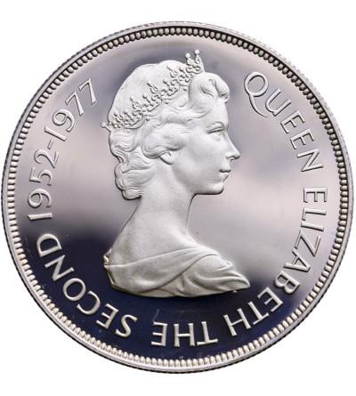 Gibraltar 25 pensów 1977, Srebrny Jubileusz Elżbiety II