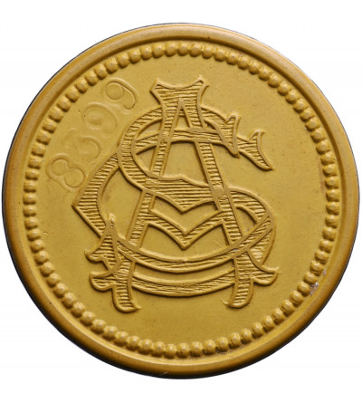 Chile 2 dolary token bez daty (1912), Compania de Salitres de Antofagasta