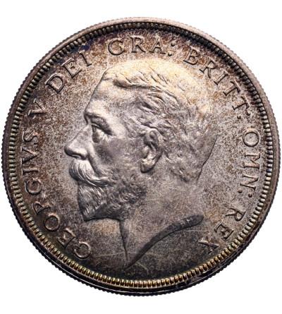 Wielka Brytania 1 korona 1927, Jerzy V - Proof