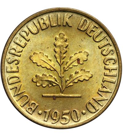 Germany Federal Republic 10 Pfennig 1950 F