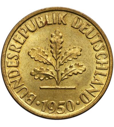 Germany Federal Republic 10 Pfennig 1950 D