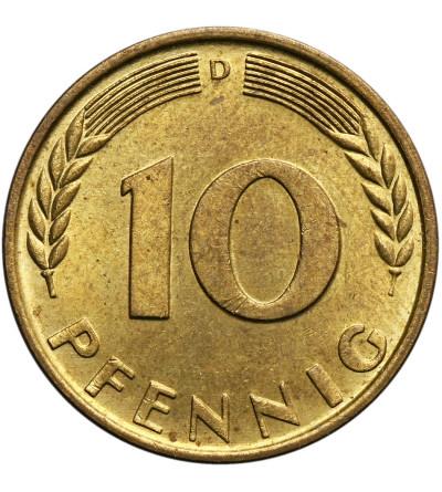 RFN 10 fenigów 1950 D