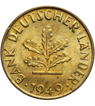 Germany Federal Republic 10 Pfennig 1949 F