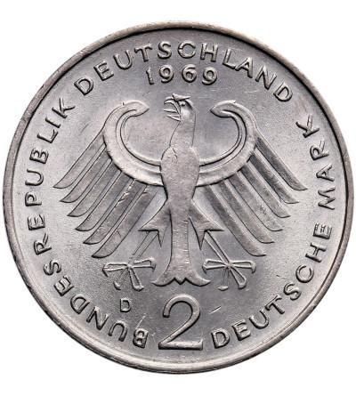 RFN 2 marki 1969 D, Konrad Adenauer