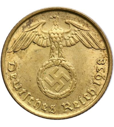Niemcy III Rzesza 5 fenigów 1938 B, Wiedeń