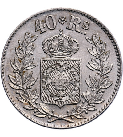 Brazylia 40 Reis 1863 - próba