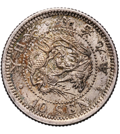 Japan 10 Sen 1876 (Yr.9)
