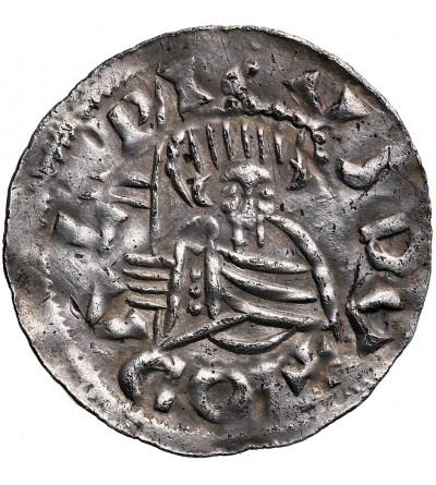 Czechy. Udalryk 1012-1033/34, denar bez daty, Praga