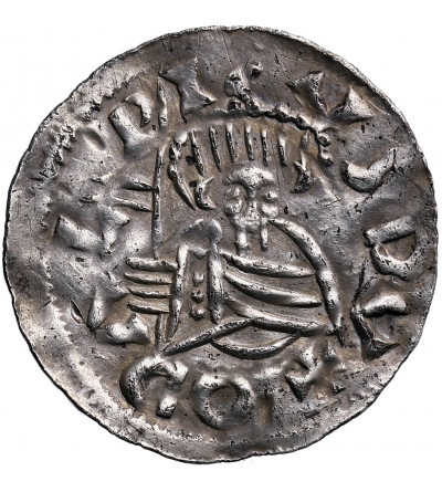 Duchy of Bohemia. Oldrich 1012-1033/34, Denar ND, Prague