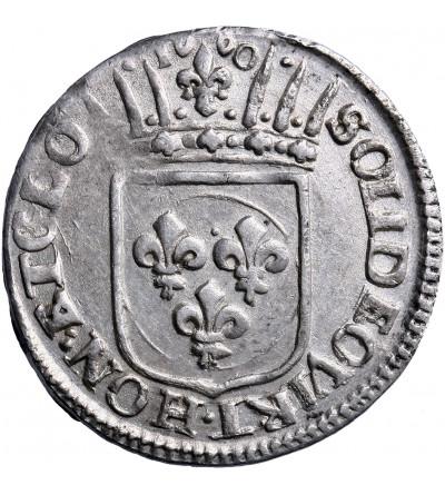 Włochy. Toskania. Luigino 1660, Livorno. Ferdinando II de Medici 1621-1670
