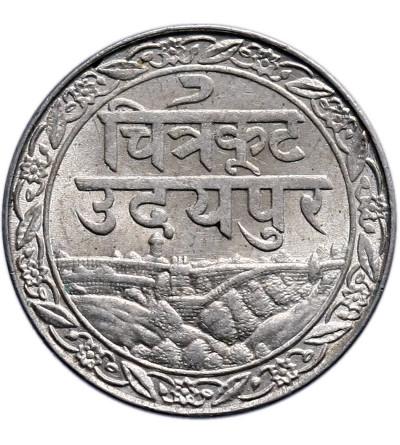 Indie - Mewar 1/16 rupii 1928