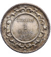 Tunezja 1 frank AH 1335 / 1917 AD