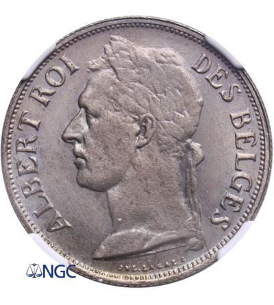 Kongo Belgijskie 1 frank 1926, CONGO BELGE - NGC MS 65