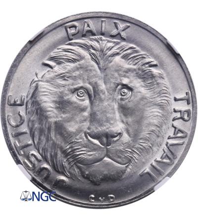 Kongo 10 franków 1965 - ESSAI (próba) - NGC MS 66