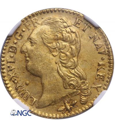 France Louis d'or 1786 D, Lyon - NGC MS 62