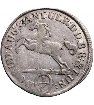 Braunschweig-Wolfenbüttel 1/6 talara (6 Mariengroschen) 1697, HCH Braunschweig,