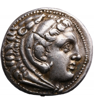 Grecja. Macedonia. Aleksander III Wielki, AR Tetradrachm ok. 310-294 p.n.e., Amphipolis, bita za panowania Kassandera
