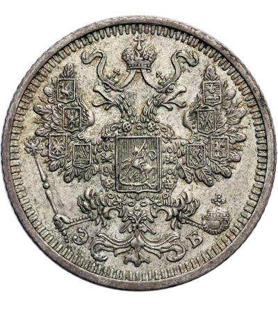 Rosja 15 kopiejek 1908 ЭБ, St. Petersburg