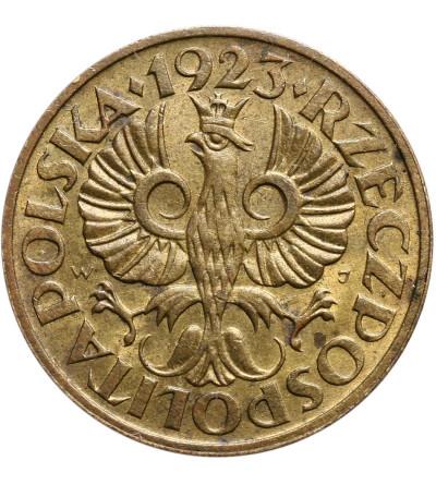 Polska 2 grosze 1923, Warszawa