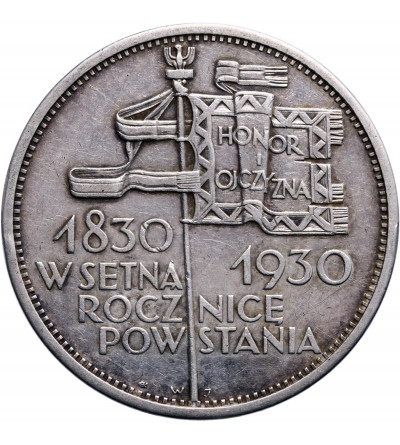 Poland 5 Zlotych 1930, Centennial of 1830 Revolution