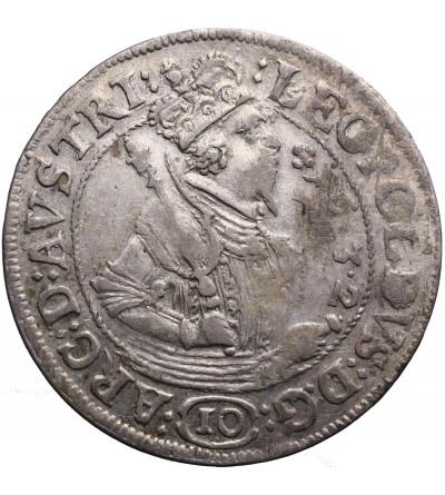 Austria (Święte Cesarstwo Rzymskie). 10 krajcarów 1632, mennica Hall, Arcyksiążę Leopold V