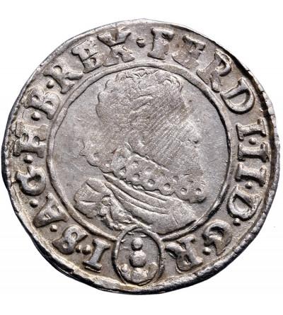 Austria (Święte Cesarstwo Rzymskie). 3 krajcary 1633, Praga, Ferdynand II