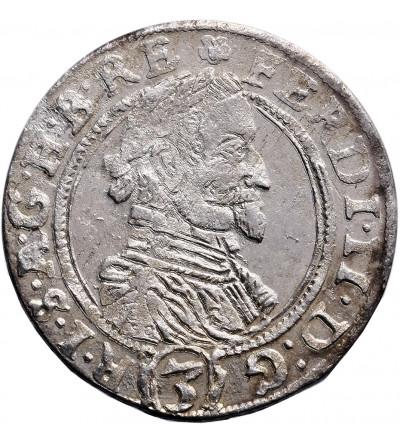 Austria (Święte Cesarstwo Rzymskie). 3 krajcary 1630, Ołomuniec, Ferdynand II