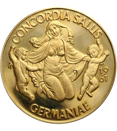 Germany 5 Medalic Ducats 1961, Concordia Salus Germaniae