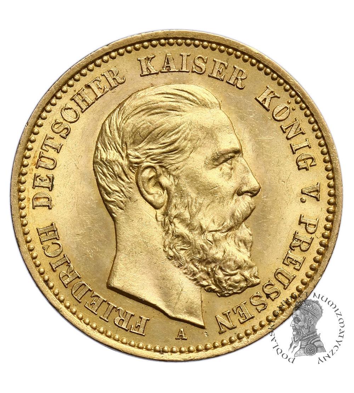 Niemcy - Prusy 10 marek 1888 A, Fryderyk III