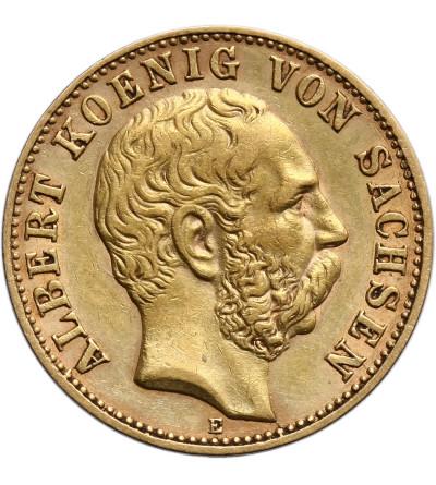 Niemcy - Saksonia 10 marek 1898 E, Albert