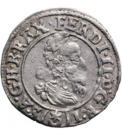 Austria (Święte Cesarstwo Rzymskie). 3 krajcary 1626, Praga, Ferdynand II