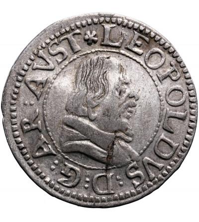 Austria (Święte Cesarstwo Rzymskie). 3 krajcary (Grosz) bez daty, Hall, Arcyksiążę Leopold V