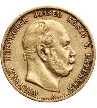 Niemcy - Prusy 10 marek 1880 A, Wilhelm I